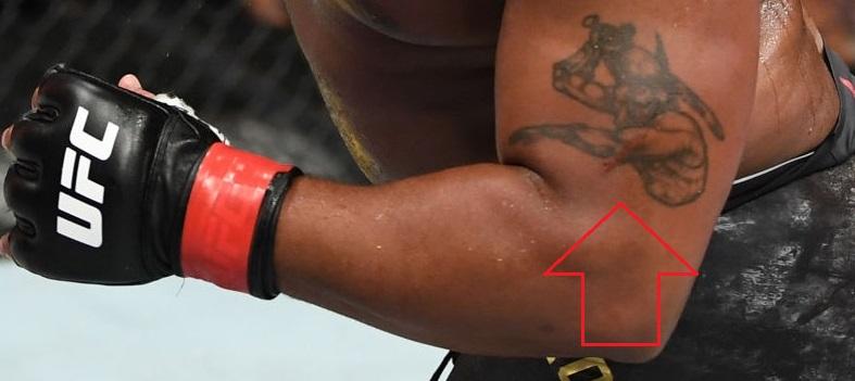 Daniel Cormier Left Arm Tattoo
