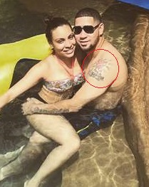 Gary Sanchez Left Arm Shoulder Tattoo