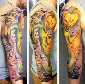 halloween tattoo designs