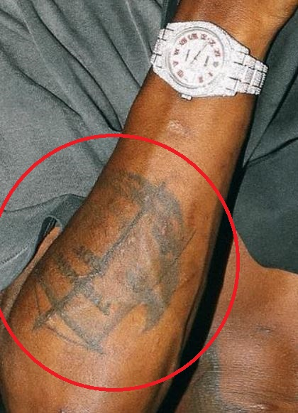 Ian Connor banner tattoo