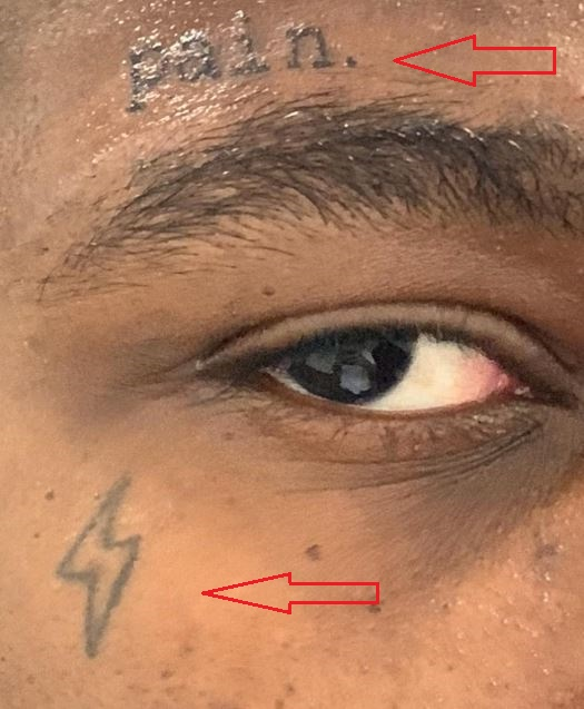 Tattoo Above Eyebrow Meaning: Ian Connor's 12 Tattoos & Their Meanings