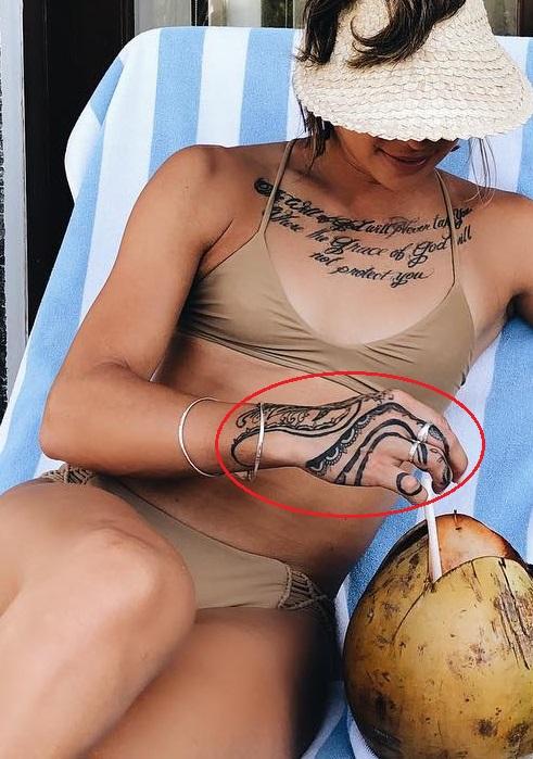Kailin Curran Right Hand Tattoo