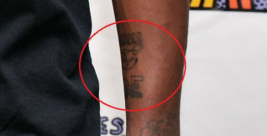 Kyrie Irving Left Wrist Tattoo