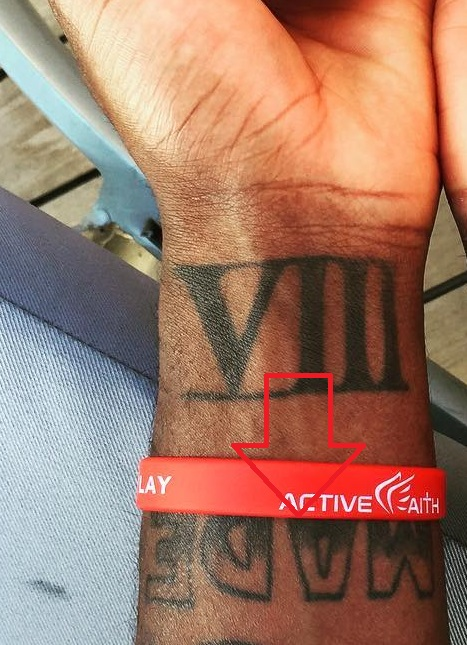 Kyrie Irving Wrist Made Tattoo
