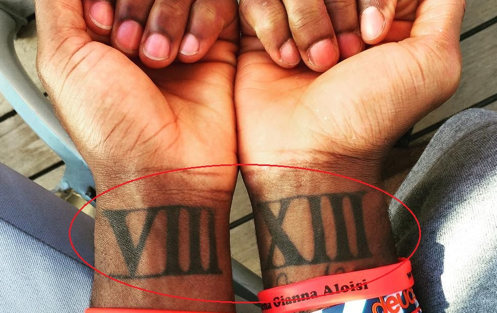 Kyrie Irving Wrist Tattoo