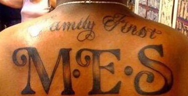 Marcus Back Tattoo