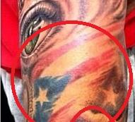 Marcus Stroman American Flag Tattoo