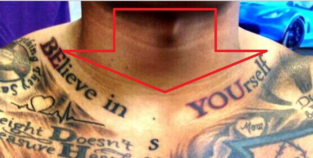 Marcus Stroman BELieve in YOUself Tattoo