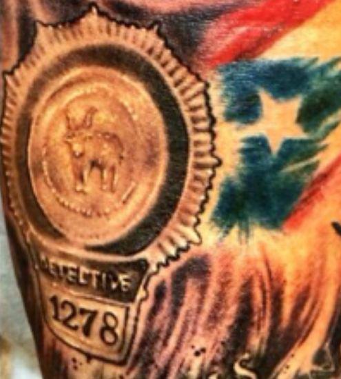 Marcus Stroman DETECTIVE 1278 Tattoo