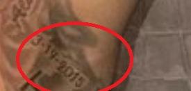 Marcus Stroman Date Tattoo
