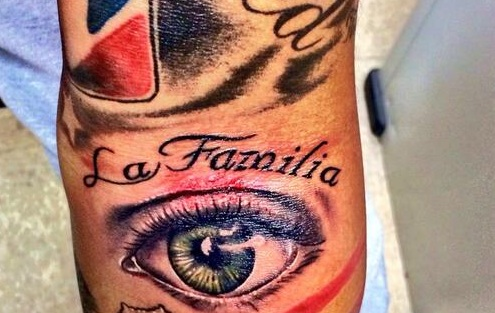 Marcus Stroman Left Forearm Tattoo