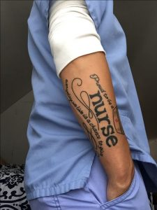nurse tattoo