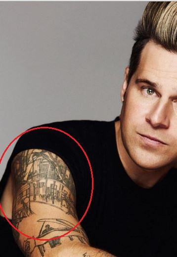 Ryan Cabrera street tattoo
