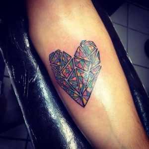 mosaic tattoo