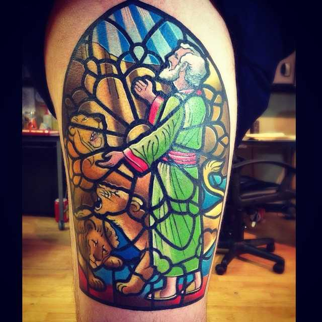 mosaic tattoo