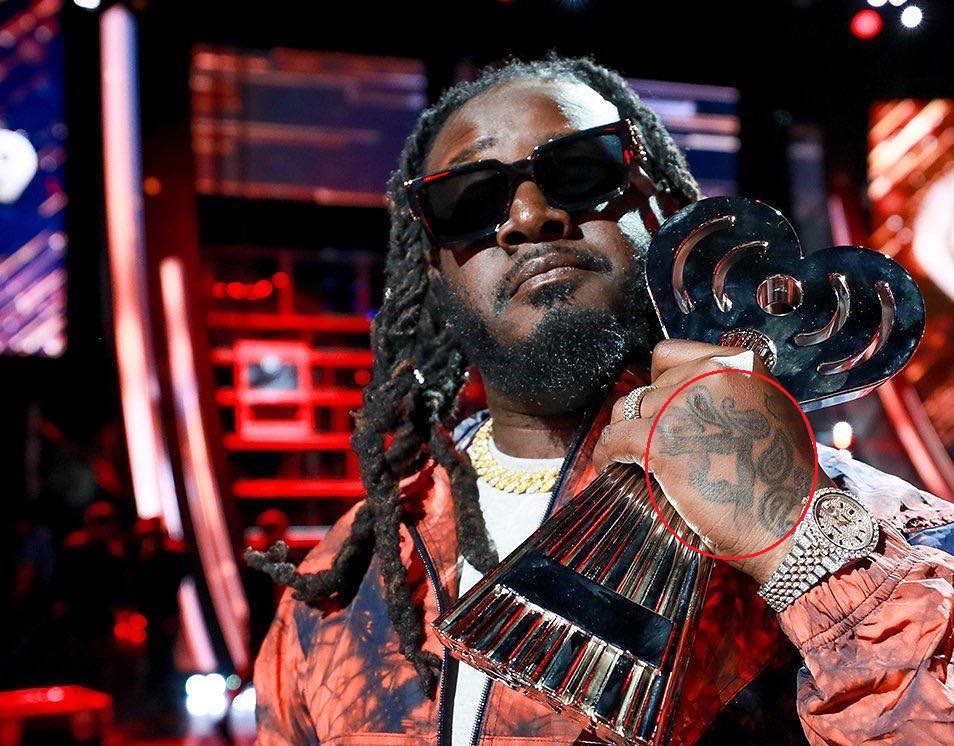 T Pain Left Hand Tattoo