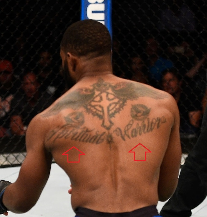 Tyron-Woodley-Back-Tattoo