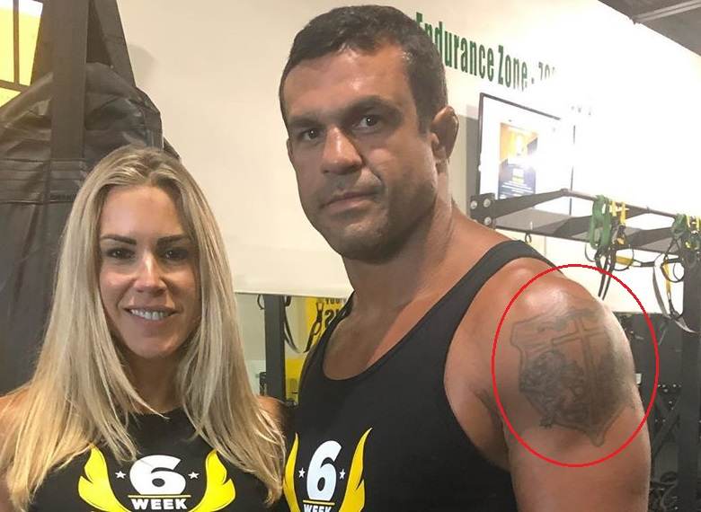 Vitor Belfort LeftArm Shoulder Tattoo