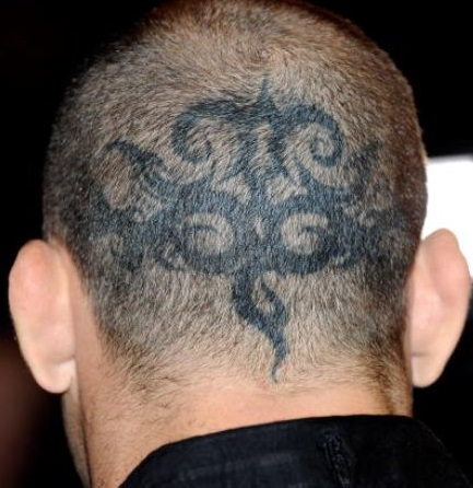 Wanderlei Silva Head Tattoo
