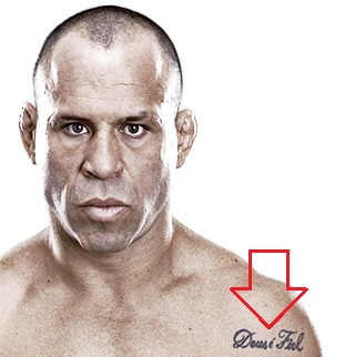 Wanderlei Silva Left Shoulder Tattoo