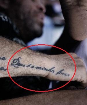 Wanderlei Silva Right Arm Tattoo