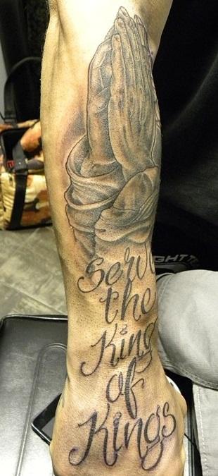 Wanderlei Silva Right Forearm Tattoo.JPg