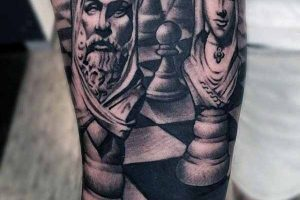 chess tattoo