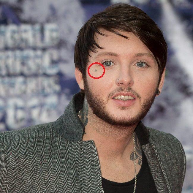 teardrop tattoo on face