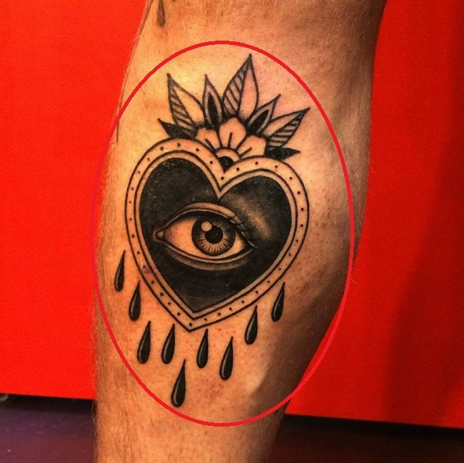 Aleister Black-spiritual eye tattoo