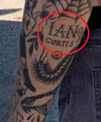 Anders Gran IAN CURTIS Tattoo
