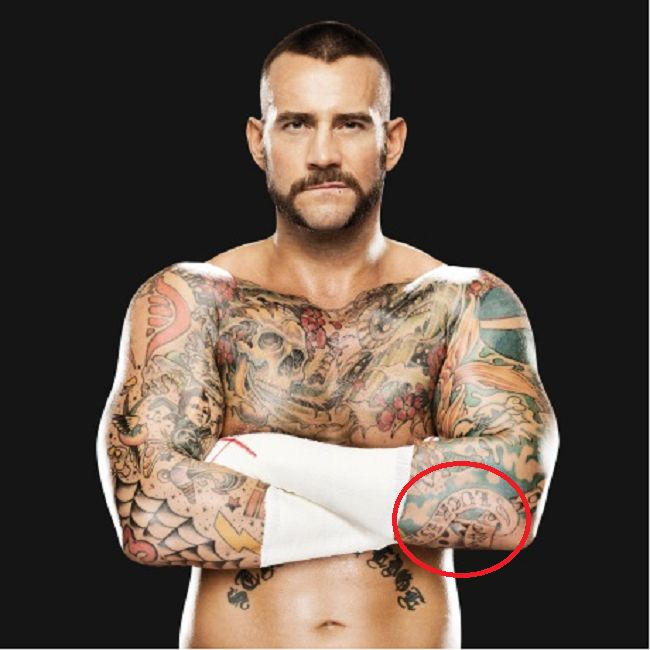 CM Punk-luck is for losers tattoo