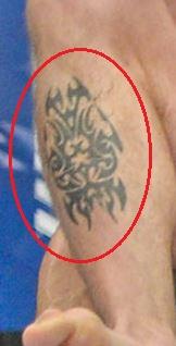 Carlos Condit tribal tattoo