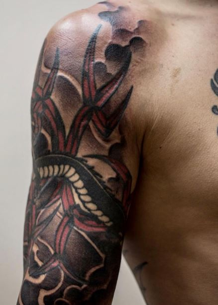 Cub Swanson Newly Changed Dragon Tattoo