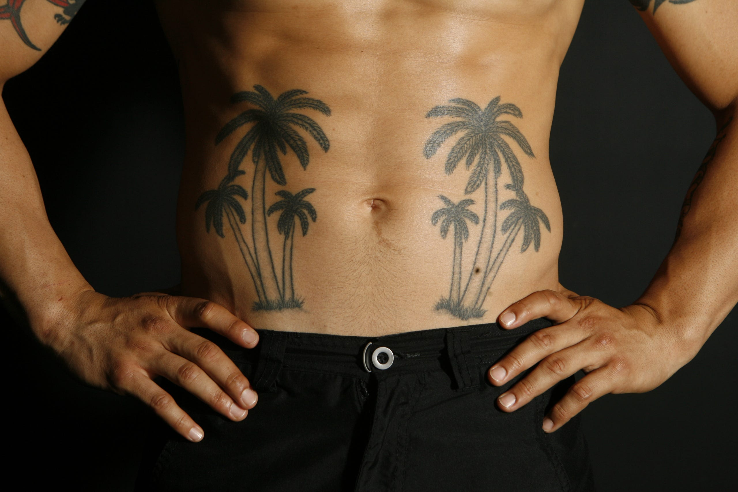 Cub Swanson Palm Trees Tattoo