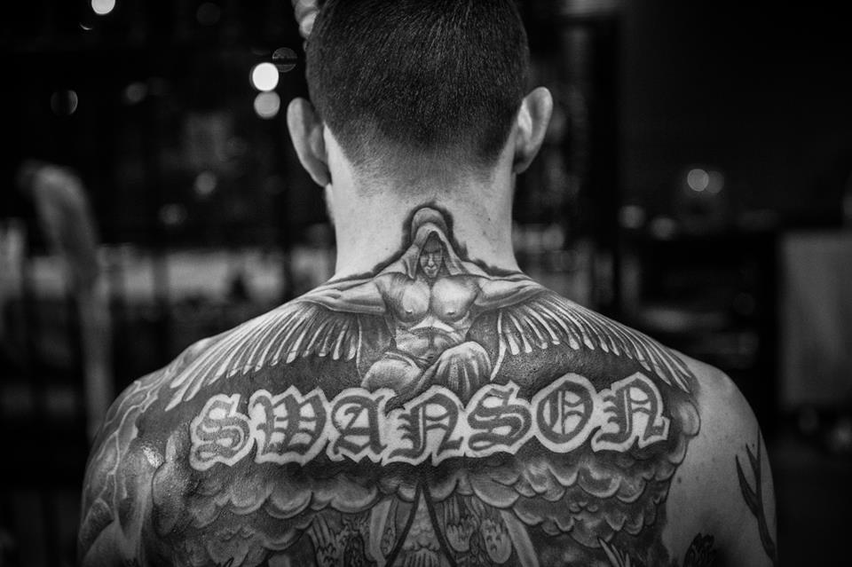 Cub Swanson SWANSON Tattoo