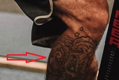 Donald Cerrone clouds tattoo