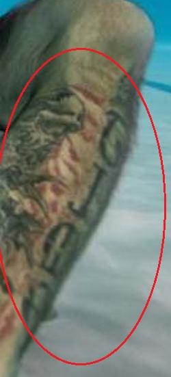 Donald Cerrone playtime tattoo 1