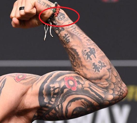 Dustin Left Arm Diamond Tattoo