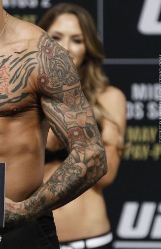 Dustin Poirier Left Arm Ink