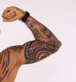 Dustin Poirier Left Arm Tattoos