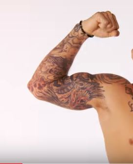 Dustin Poirier Right Arm Tattoos