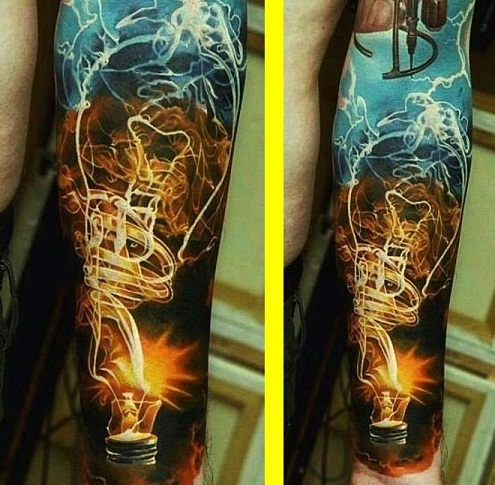 Light tattoo