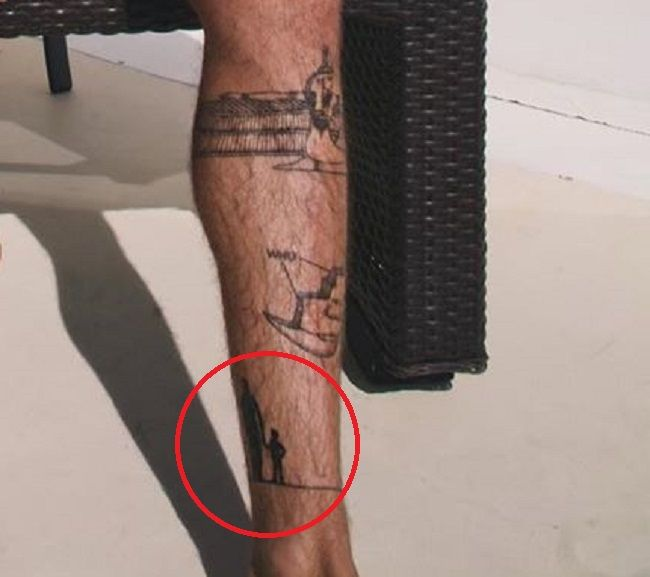 Jay Alvarrez-father son tattoo