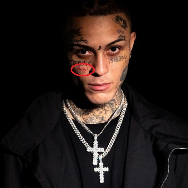 Lil Skies-shalby tattoo