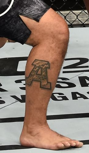 Mark Hunt A Tattoo