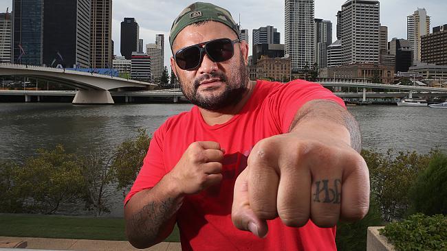 Mark Hunt Finger Ink