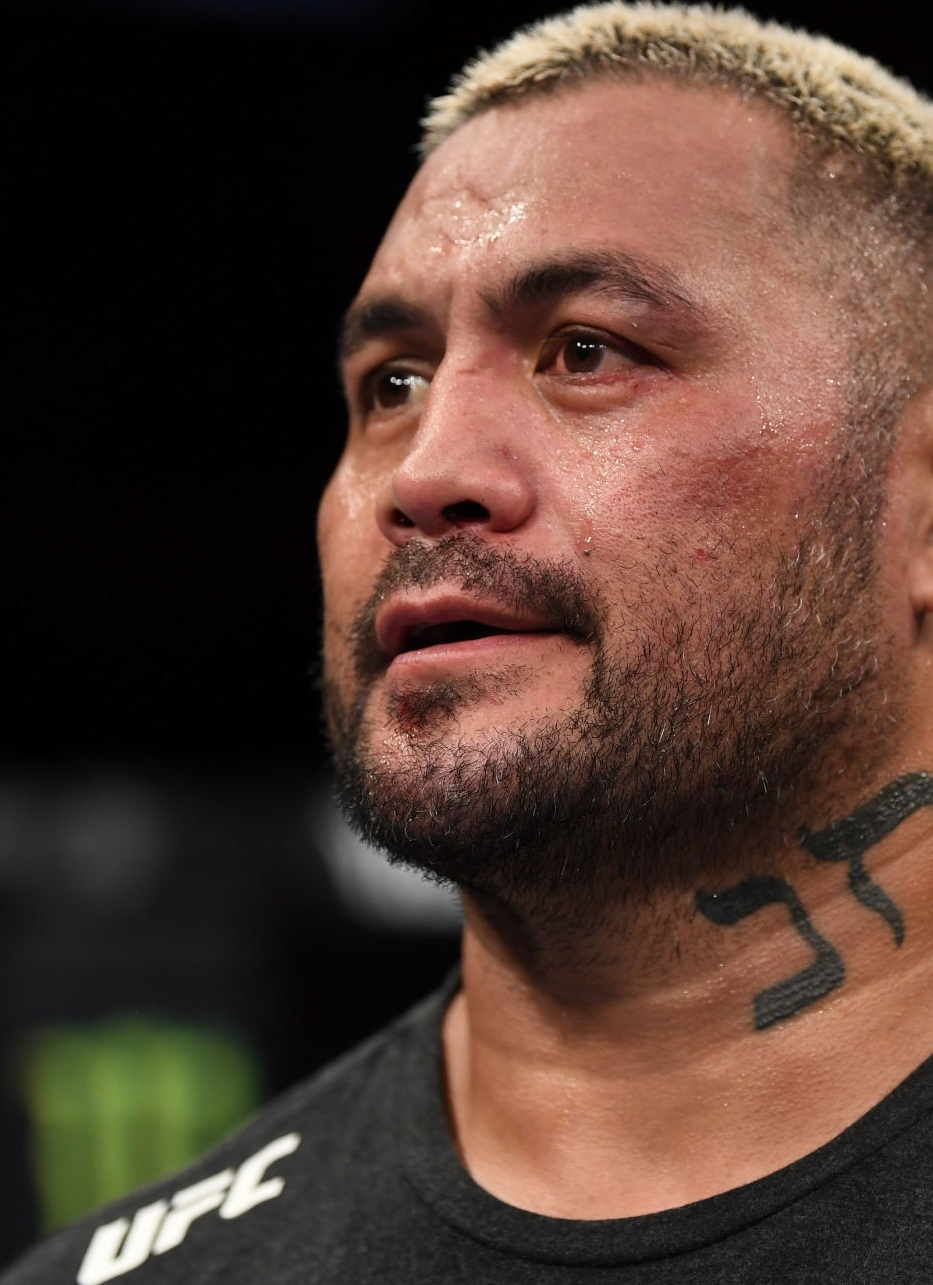 Mark Hunt Neck Symbol