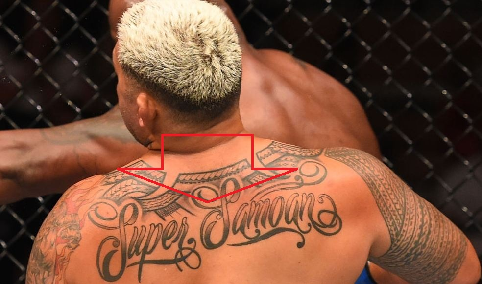 Mark Hunt Super Samoan Tattoo