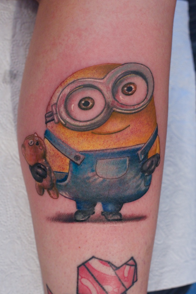 Minion Tattoo by Graynd