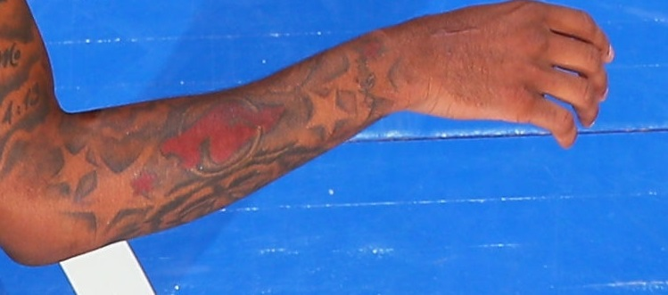 Myles Powell Right forearm front Tattoo